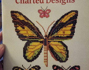Exotic Butterfly Charted Designs by Jamie Rusek