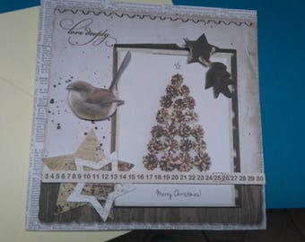 3D 955 hand made greeting card