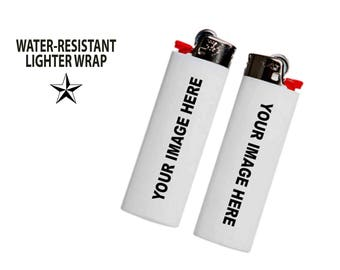 Lighter Wrap • Skin: CUSTOM IMAGE