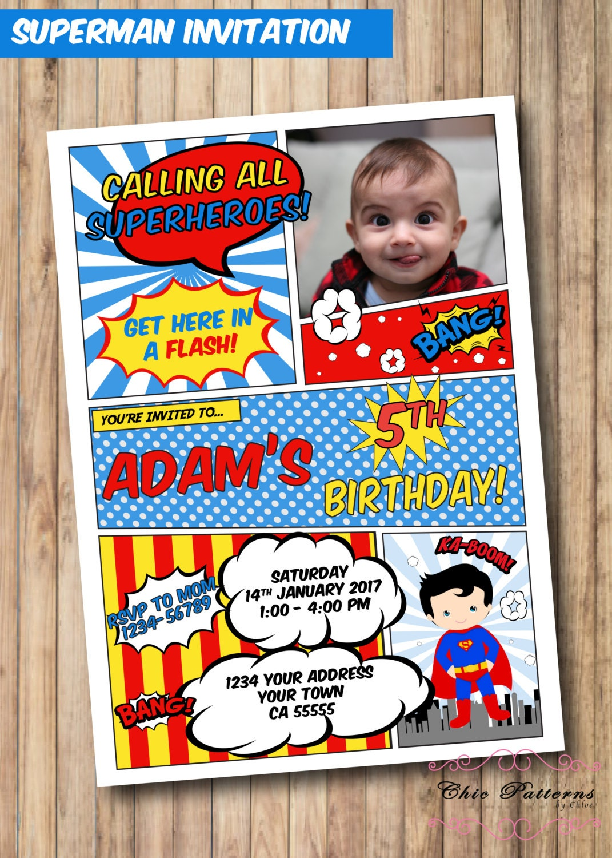The Flash Invitations Avengers Boy free invitation maker online ...