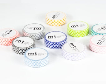 MT - Washi Paper Masking Tapes - Dot