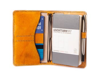 Leather Journal Personalized Leather Cover Travelers Notebook Cover Passport Holder Midori  A6 Field Notes Moleskine Leuchtturm1917 Fauxdori