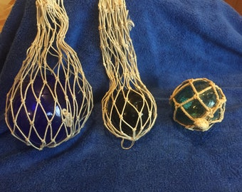 Hand Blown glass fishing balls