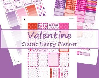 CHP -- Valentines Day Planner Stickers