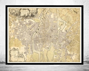 Antique cork map etsy vintage map of cork ireland 1759 antique vintage gumiabroncs Gallery