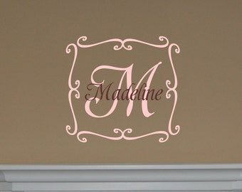 Madeline Monogram - Vinyl Wall Decal