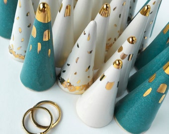 SURPRISE Ring Cone! You will receive a white, teal, or gray ring cone in any of these glam styles!