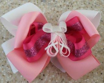 Ballerina slippers hairbow