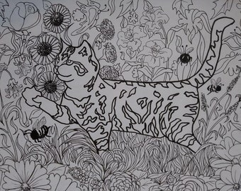 Leopard Coloring Pages Pdf : Coloring pages instant download