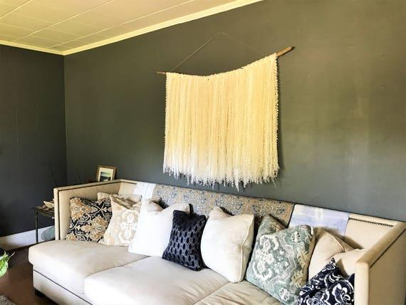 Enchanting White Driftwood Wall Decor Photos