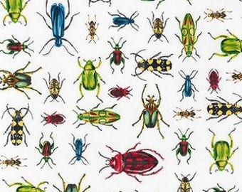Bugs on White from Robert Kaufman's Everyday Favorite Collection by Mary Lake-Thompson
