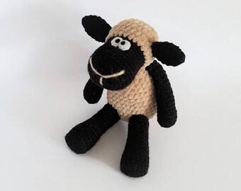PATTERN: Crochet sheep pattern - Amigurumi sheep pattern - crocheted sheep pattern - PDF crochet pattern - tutorial