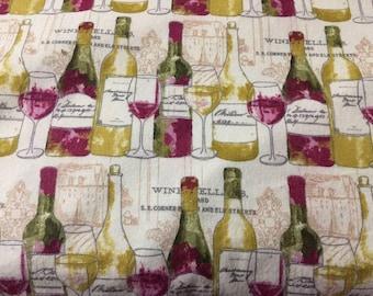 Wine Bottles Lampshade Cover, Matching Night Light, Matching Switchplates