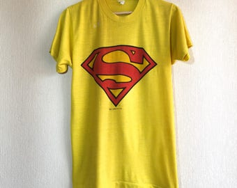 1978 RARE Superman vintage t-shirt // comics tee