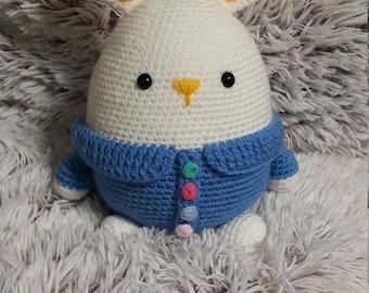 Crochet amigurumi Easter Bunny gift
