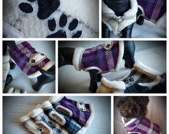Doggy pattern  fleece vest top.
