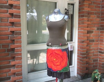 Heart Rose Dress