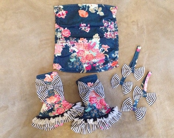 Tula Baby Carrier Inspired Accessories ... Ready to Ship... Flora Blue