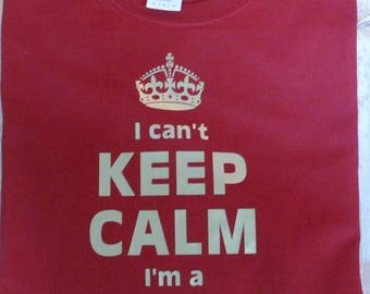 Personalized Keep Calm L/S Shirt