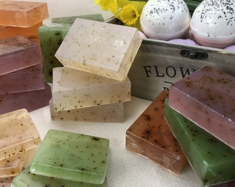 4 Spring Tea Soaps Combo