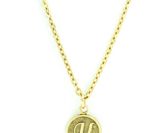 Letter K Necklace | Gold Letter K Necklace | Gold Initial K Necklace | Gold Letter K Pendant Necklace