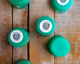 Mint & Aloe Shave Soap Tablet