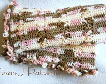 Crochet Pattern - Sweet Dreams Baby Afghan