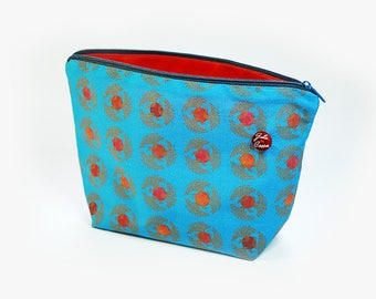 Bio-cosmetic Bag swan Blue
