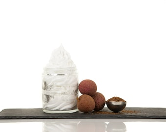 lychee and rooibos, whipped SOAP