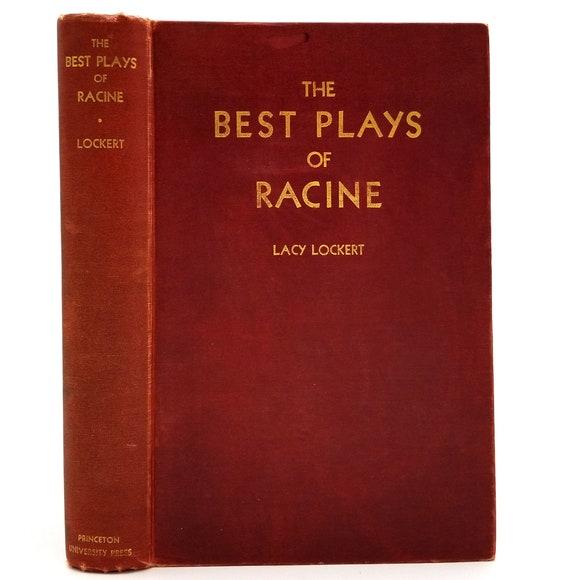 The Best Plays of (Jean) Racine 1936 1st Edition Hardcover HC - Princeton University - Drama Theater