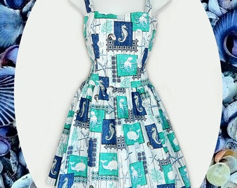 Nautical Ocean dress
