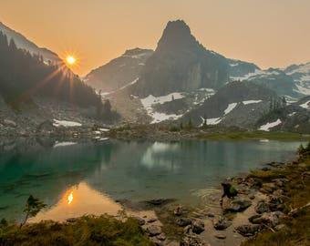 Back-country sunrise