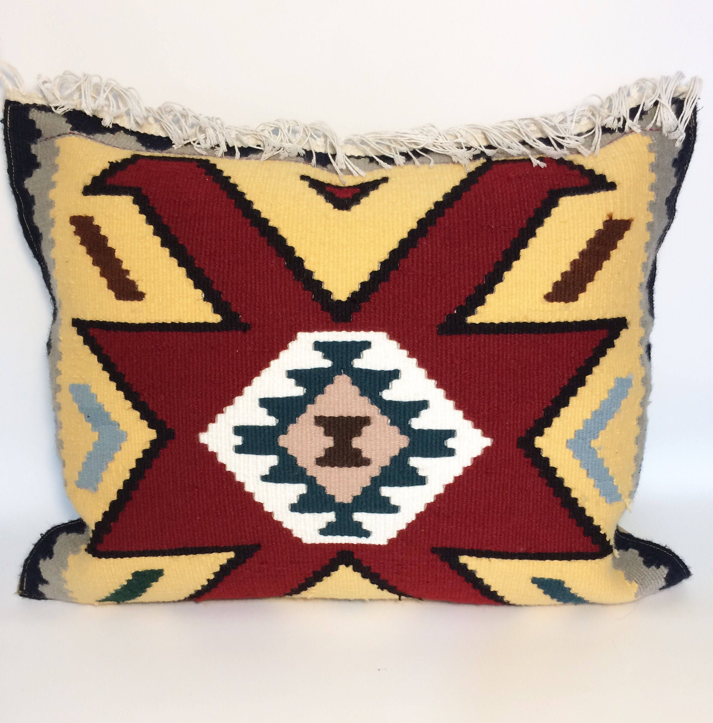 pillow pillows pin vintage set sale two outdoor cushion case kilim covers turkish of rug