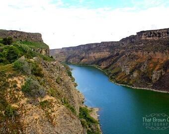 Snake River Canyon, Twin Falls Idaho Photo