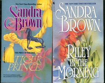 Sandra Brown Novels - (Two Paperbacks)