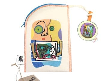 Picasso (Handmade, Cosmetic bag)
