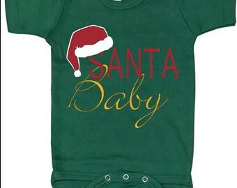 Santa Baby - Infant & Toddler Bodysuit - Onesie - Holiday Christmas Baby Onesies Bodysuit - Sizes 0 to 4T