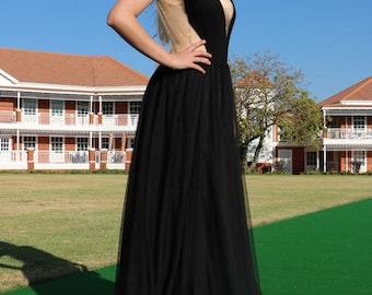 Luca Black Evening Dress