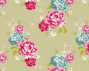 Fabric, khaki flowerpatch, patchwork, clothing