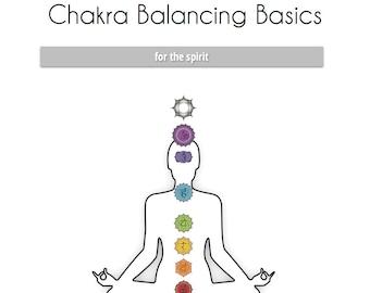 Chakra Balancing Baiscs ~ Teaching & Individual Manual ~ Energy Work ~ Chakra Book