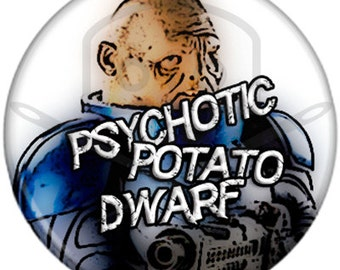 Doctor Who- Inspired STRAX button25