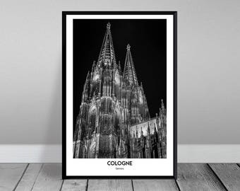 Cologne-Cologne Cathedral (XXL & XXXL)