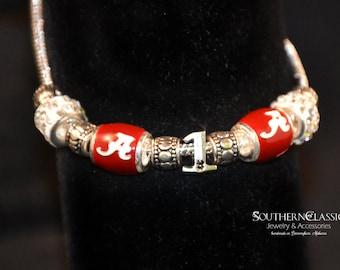 Alabama Number 1 Bracelet - Celebrate the National Championship with this European Style Alabama Fan Bracelet - Roll Tide