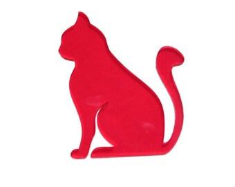 Coasters pattern 1 (CAT) 3 mm PMMA