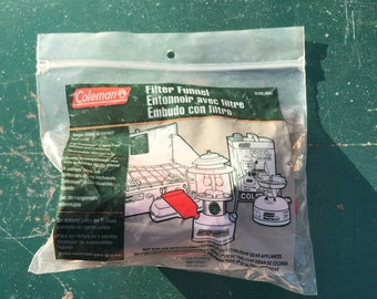 Coleman Filter Funnel brand new old stock