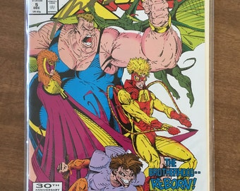 comic book, signed autographed comic book in mint condition