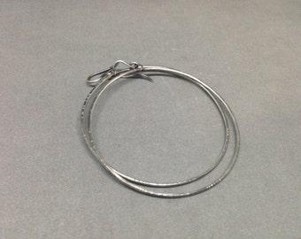 Silver hoop earrings sterling silver hoops hoop earrings big hoops large hoops hoops