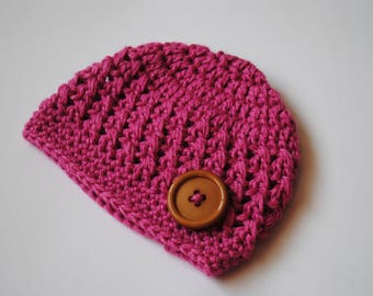 Newborn Crochet Hat, Newborn Beanie, Crochet Baby Hat, Baby Girl Hat, Baby Boy Hat, Crochet Hospital Hat, Baby Beanie, Coming Home Hat