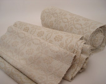 Antique Handloomed UPHOLSTERY  Antique Hemp Linen Ecofriendly for Stairrunner 10,9 Yard