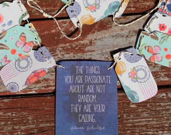 The Things in Life Bunting